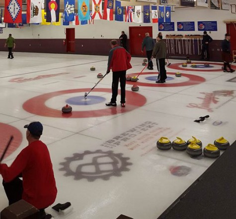 The Eau Claire Curling Club has over 300 members that participate in a number of leagues throughout the week. © 2016 Trent Tetzlaff