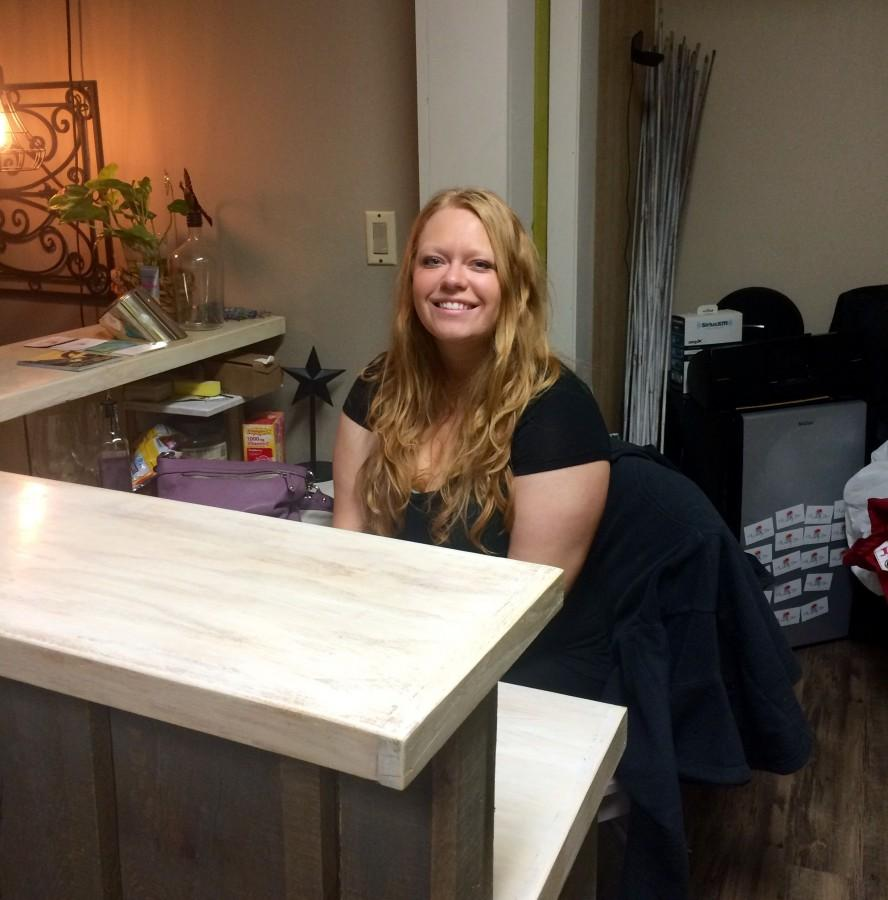 Sarah Steinle opened The Honey Pot Massage Therapy and Flotation Center in Fall 2015. She has been involved in massage therapy and wellness for over two years. © 2016 Samantha Wendling