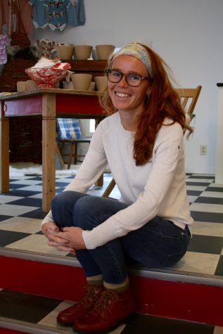 Rebecca Cooke opened her home goods and accessories shop Red's Mercantile in November of 2015. © 2016 Samantha West