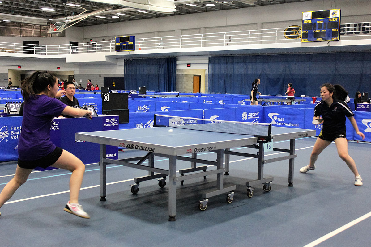 UW-Eau Claire plays host to 2017 National Collegiate Table Tennis Championship
