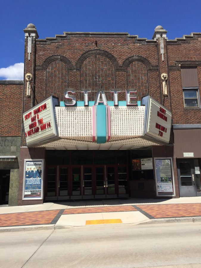 Photo by: Bree Meier   The State Theatre in Downtown Eau Claire will be sold upon the opening of the Confluence Arts Center