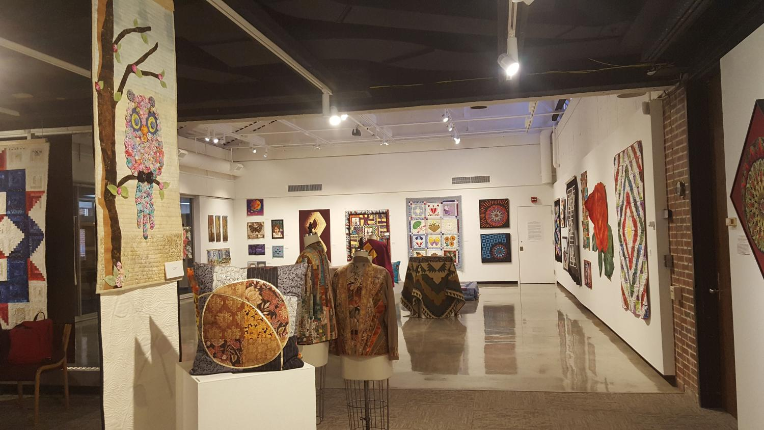 Foster Art Gallery showcases quilting as an art form