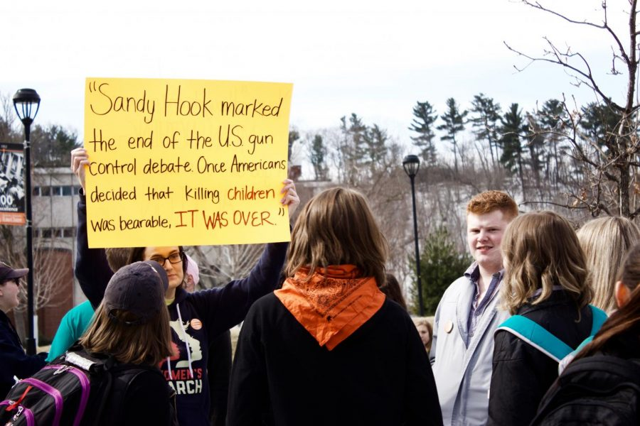 UW-Eau Claire joins in nationwide gun violence walkout