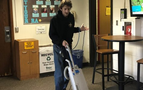 UW-Eau Claire custodian makes lifelong connections with students and staff
