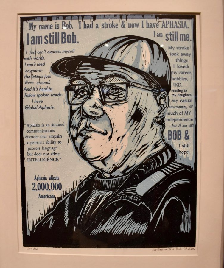 Bob+Watt+has+Aphasia+and+Ann+Klingensmith+made+this+print+of+him.+