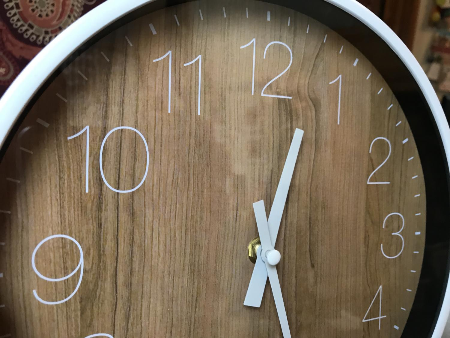 Eau Claire set their clocks forward an hour on Sunday due to Daylight Saving time.