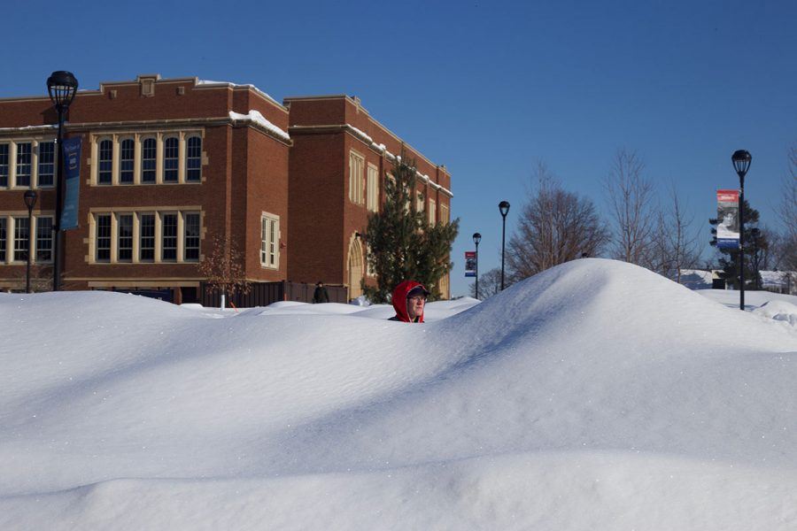February's record-breaking snowfall made for an excess of school cancellations in neighboring school districts.