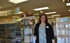 Scrapbook store owner cultivates crafting community