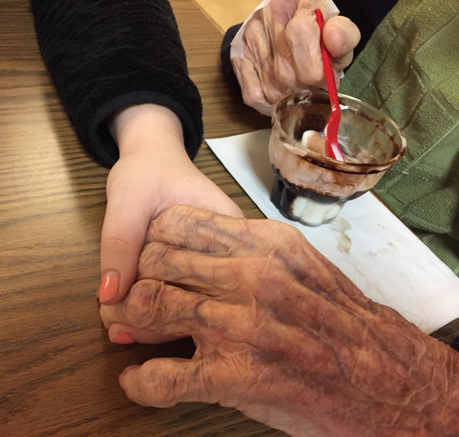 According to a clinical review conducted in 2014, unpaid family or informal caregivers provide as much as 90 percent of the in-home, long-term care needed by adults. Though caregivers can face burdens, Bernadette Arnott said these can be lightened if others are kind.