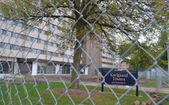 Products purchased from the Bureau of Correctional Enterprises include several custom signs that can be seen around campus. Photo courtesy of The Spectator.