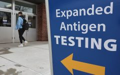 UW-Eau Claire has opened Zorn arena for antigen testing for both community members and students. Courtesy of Dan Reiland.
