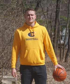 UWEC basketball student Carter Brooks says he is now eligible to return to UW-Eau Claire for one final season due to COVID-19. (Submitted)