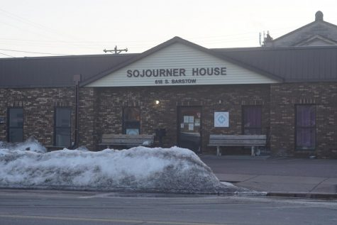 The Sojourner House is a homeless shelter in downtown Eau Claire located at 1031 W. Clairemont Ave. ©LukeAlex2021