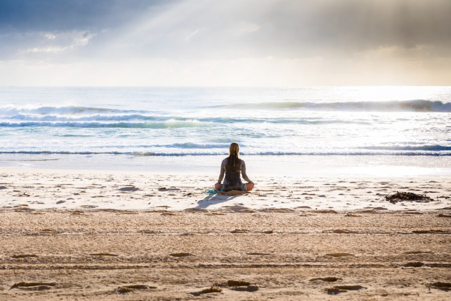 The Monterey Bay Aquarium in California started their virtual morning MeditOceans series last March amid the COVID-19 pandemic. Photo by Simon Rae on Unsplash.